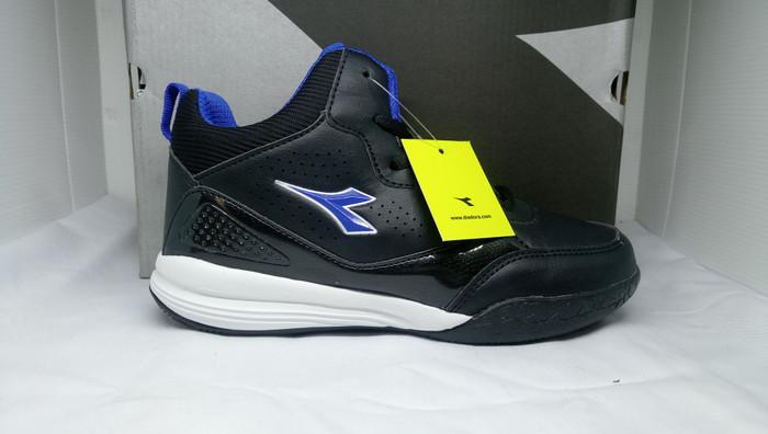 harga Sepatu anak original diadora fredo jr black/blue Tokopedia.com
