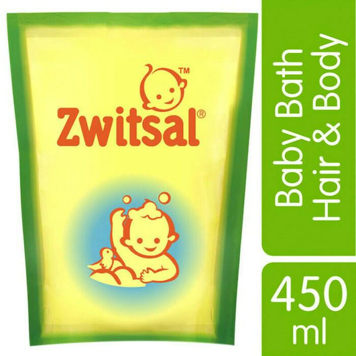 harga Zwitsal sabun bayi baby bath 2 in 1 hair & body 450ml Tokopedia.com