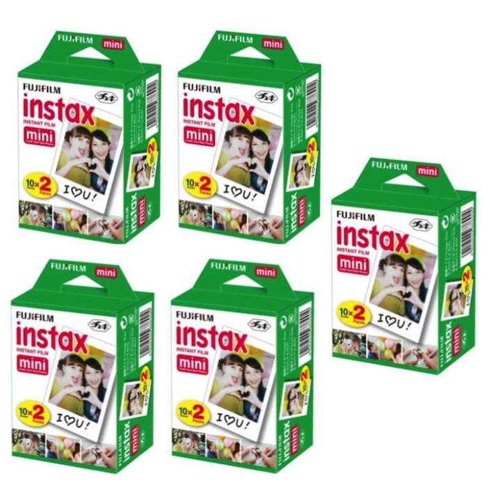 harga Refill isi instax mini polaroid polos isi 100 lembar (5x twinpack) Tokopedia.com