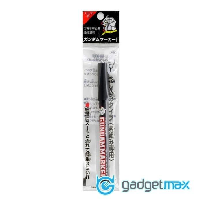 Foto Produk Black Marker for Hobbies / Gundam Marker Slushing Sumi-ire Pen GM301 dari Gadgetmax.net