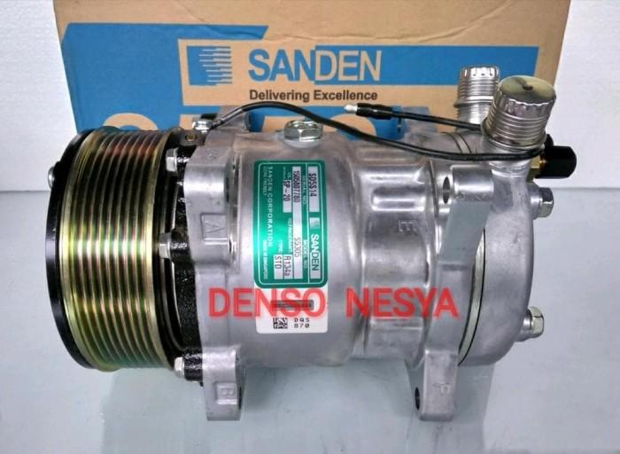 Jual Compresor Kompresor AC Mobil SD 508/ SD5H14 - Puli PK - SANDEN ASLI -  Kota Probolinggo - Samudra AC | Tokopedia