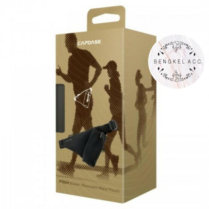 harga Capdase posh tahan air sport waist belt bag pouch running jogging lari Tokopedia.com