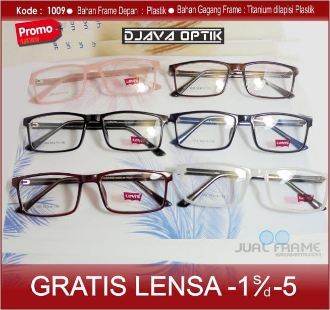 Frame Kacamata Kotak Minus- Kacamata Levis Minus Baca Antiradiasi efb178de99