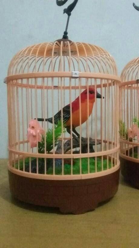 harga Mainan burung dalam sangkar Tokopedia.com