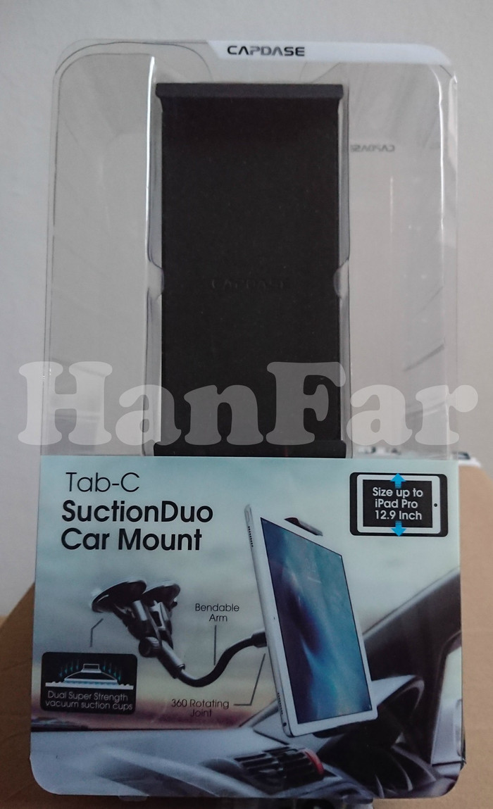 harga Capdase tab-c tablet mount suction duo car holder mount tab Tokopedia.com
