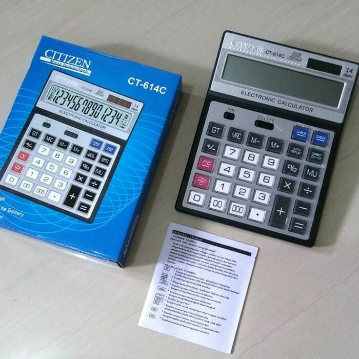 harga Kalkulator citizen ct 614c Tokopedia.com