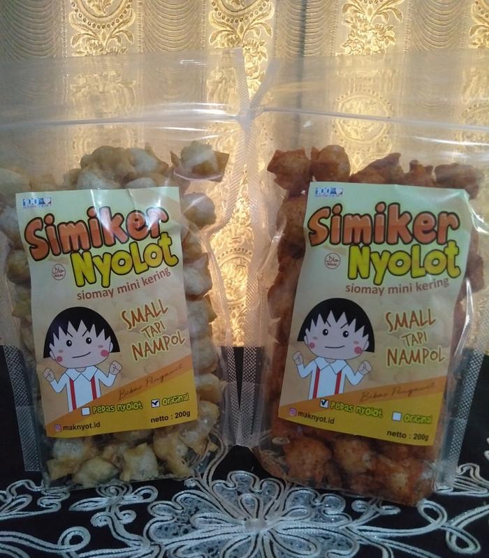 Foto Produk Siomay Mini Kering (SiMiKer)/Pangsit Mini Kering dari Malizh's Food
