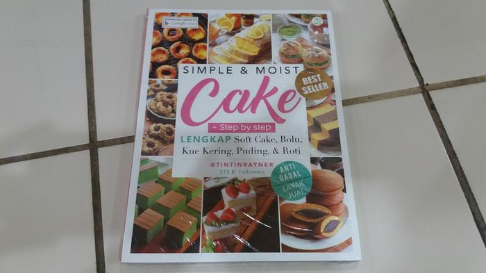 harga Buku simple & moist cake (simpel & lembut membuat kue) - tintin rayner Tokopedia.com