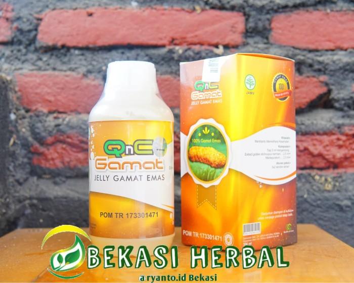 Obat herbal luka luar dan dalam paling ampuh qnc jelly gamat