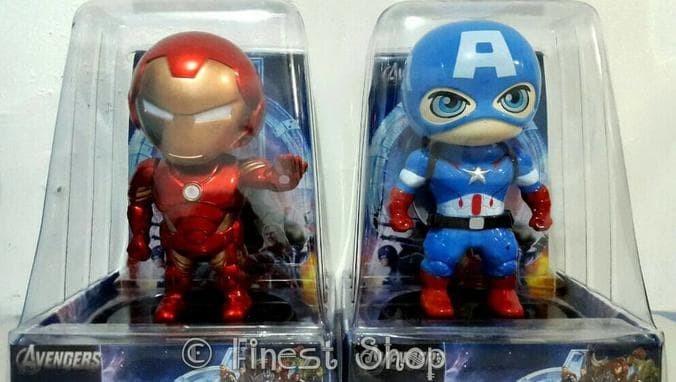 Jual Jual Boneka Hiasan Dashboard Mobil Iron Man Doraemon Captain ... 785a8e1d82