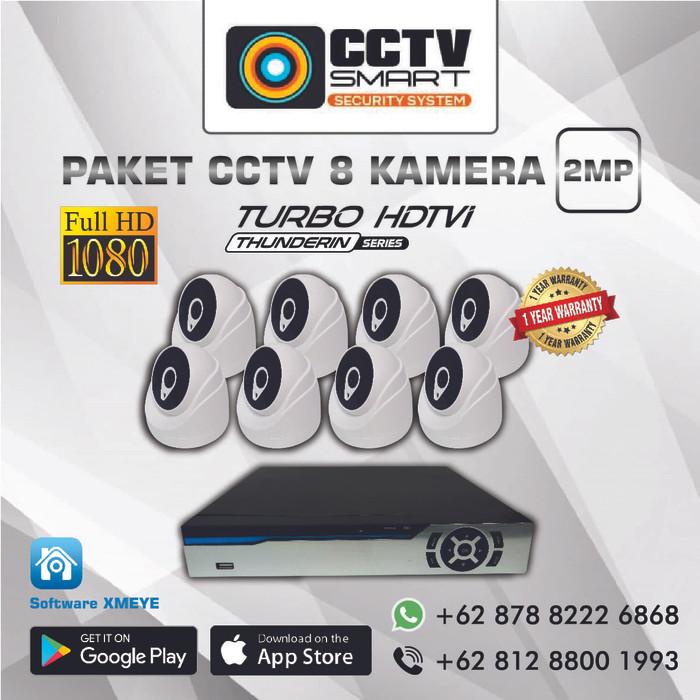 harga Paket cctv 8 kamera pesanan Tokopedia.com