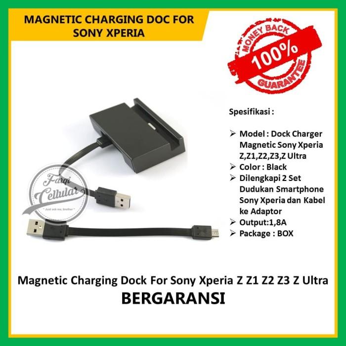 Magnetic Charging Dock For Sony Xperia Z Z1 Z2 Z3 Z Ultra - Original