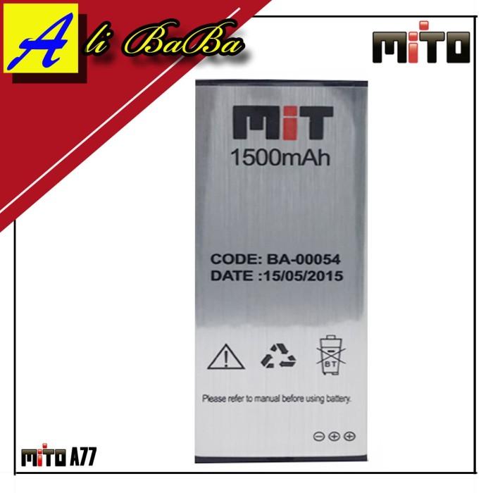 harga Baterai handphone mito a77 mito 777 ba-00054 batre hp original oem a77 Tokopedia.com