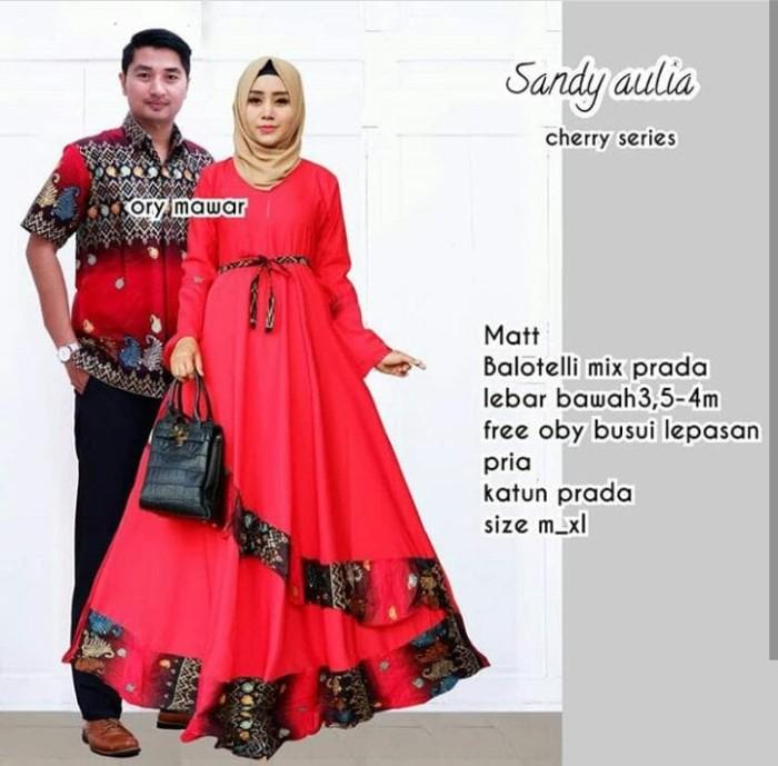 Batik Couple / Baju Batik Sarimbit Sandy Aulia