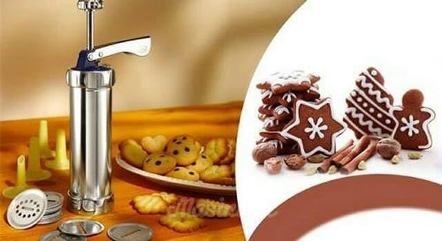 ... harga Cetakan biskuit kue kering biscuit maker cookie maker marcato snack Tokopedia.com