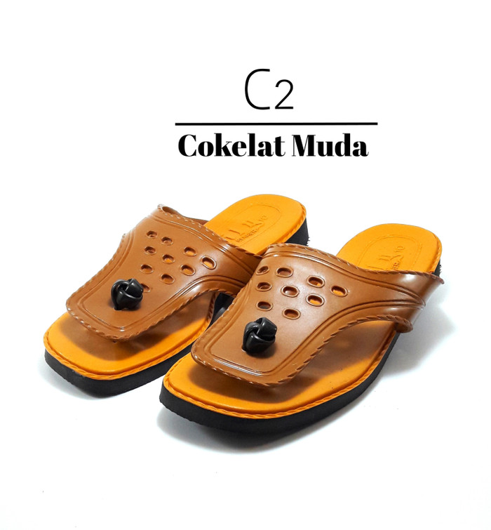 harga [grosir] sandal jepit lily tipe 2000 size 10 Tokopedia.com