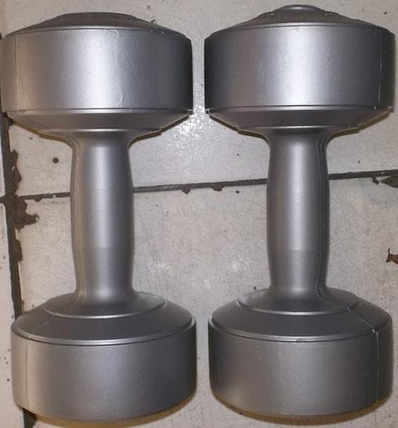 Cuci Gudang sepasang 3 kg dumble/dumbbell/dumbel/dumbell (bukan barbel
