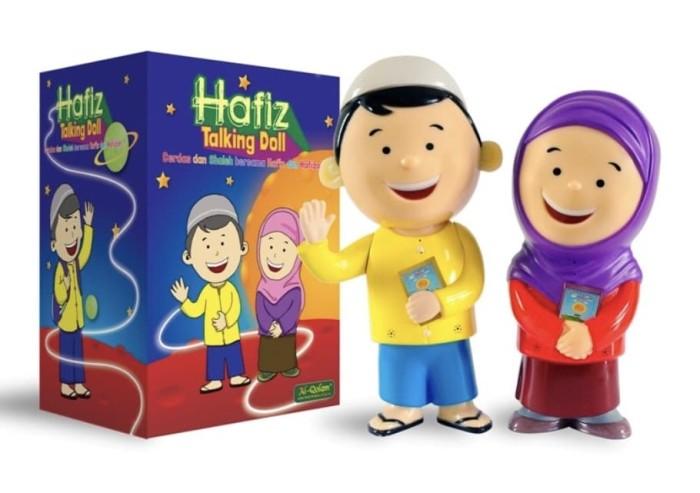 Al Qolam Hafiz Talking Doll - Boneka Bisa Mengaji dan Berbicara