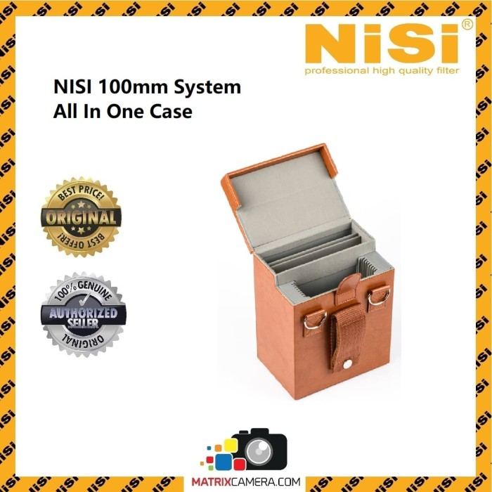 Foto Produk NiSi 100mm Filter System All in One Case Storage Box dari MatrixCamera