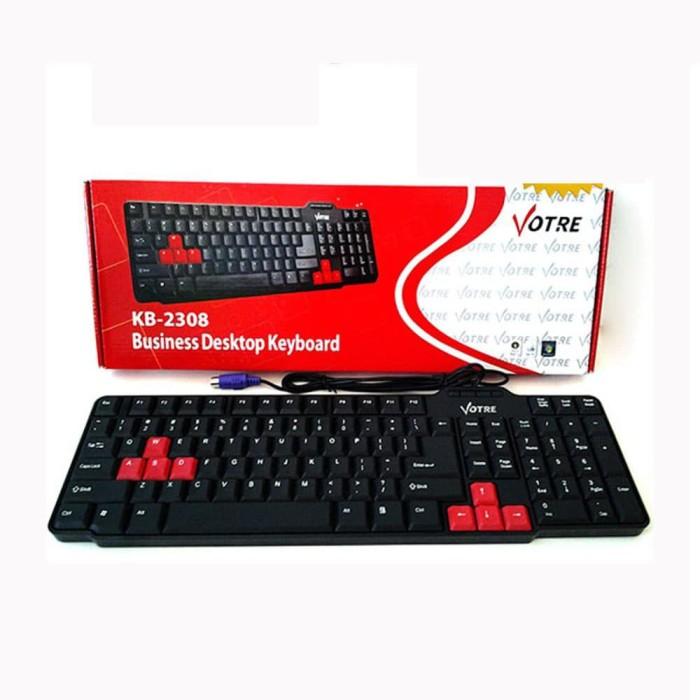 Foto Produk Votre KB-2308 Keyboard PS2 dari JEQA Komputer