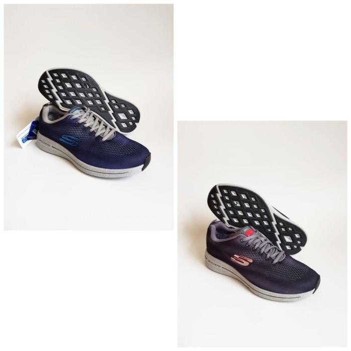 harga Skechers Haviture Lace Men Sepatu Pria Original - Navy, 45 Blanja.com