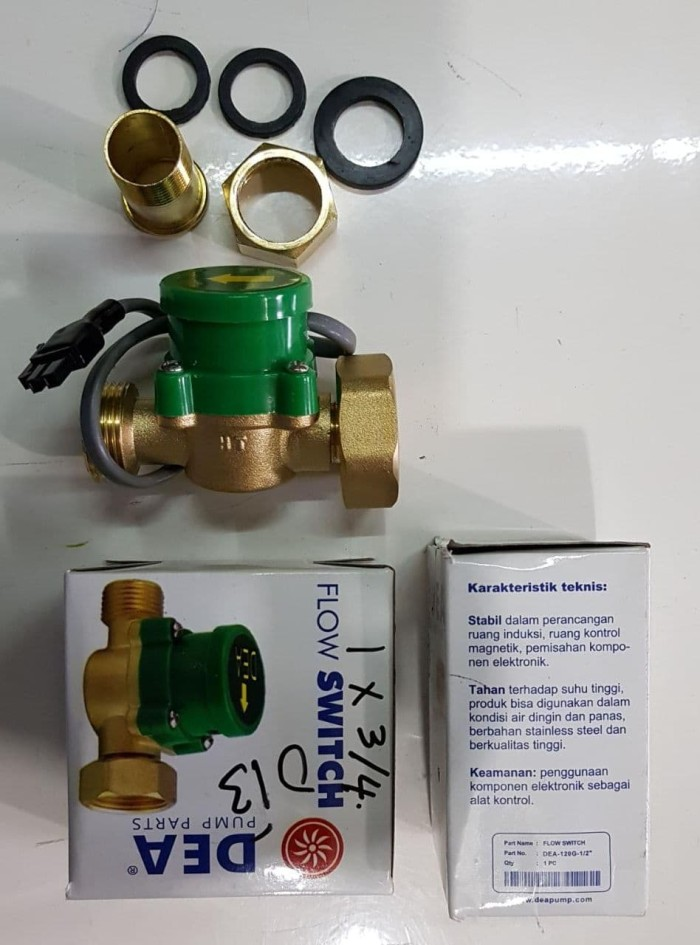 harga Dae 1 x 3/4 otomatis pompa booster water flow switch skls san ei york Tokopedia.com