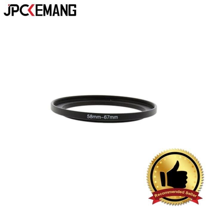 Foto Produk Step Up Ring 58-67 mm dari JPCKemang