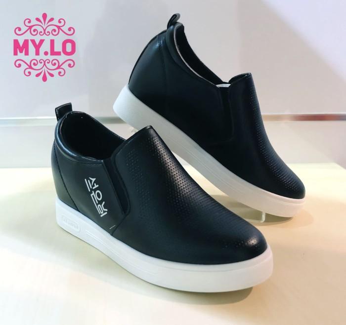 harga Sepatu casual slipon wedges kets wanita import mylo ms319 Tokopedia.com