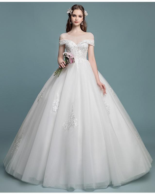 harga Gaun pengantin 1804045 putih sabrina wedding gown Tokopedia.com