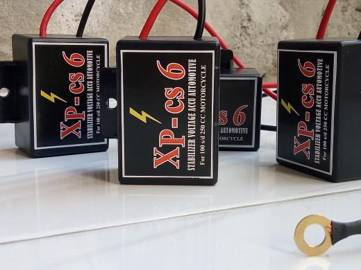 harga Stabiliser aki motor xp-cs6 baru bertanaga Tokopedia.com