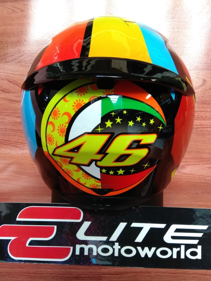Helm AGV K3 SV Rossi Element 46 3