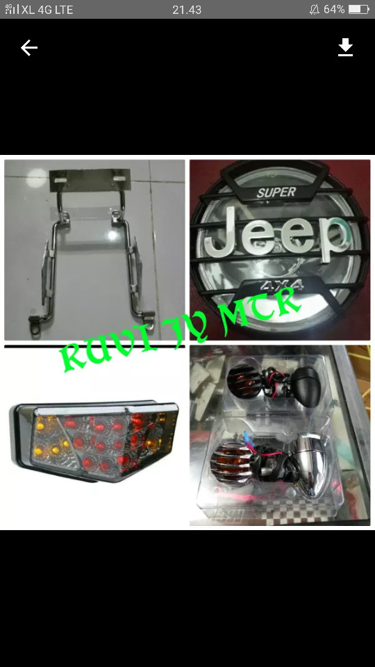 harga Paket motor rx king full variasiiii mantapp Tokopedia.com