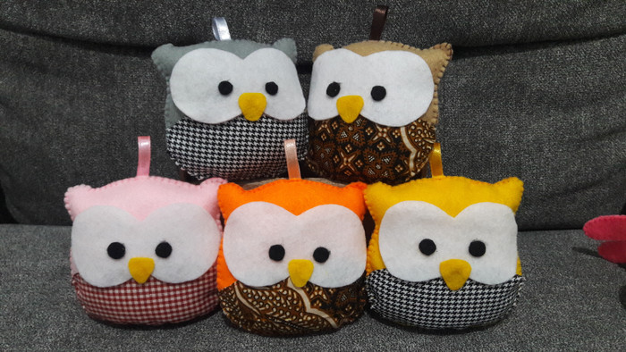 Jual Boneka Owl Burung Hantu Souvenir Kab Cirebon Yenz Craft