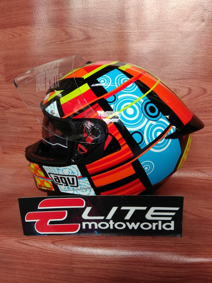 Helm AGV K3 SV Rossi Element 46 4