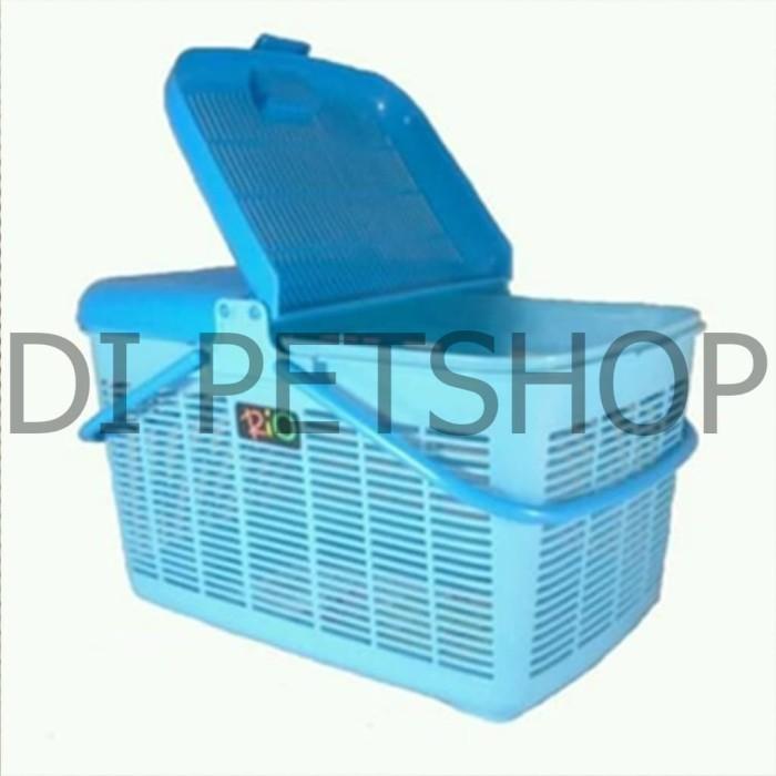 harga Kandang kucing keranjang rio pet carrier cargo small kecil Tokopedia.com