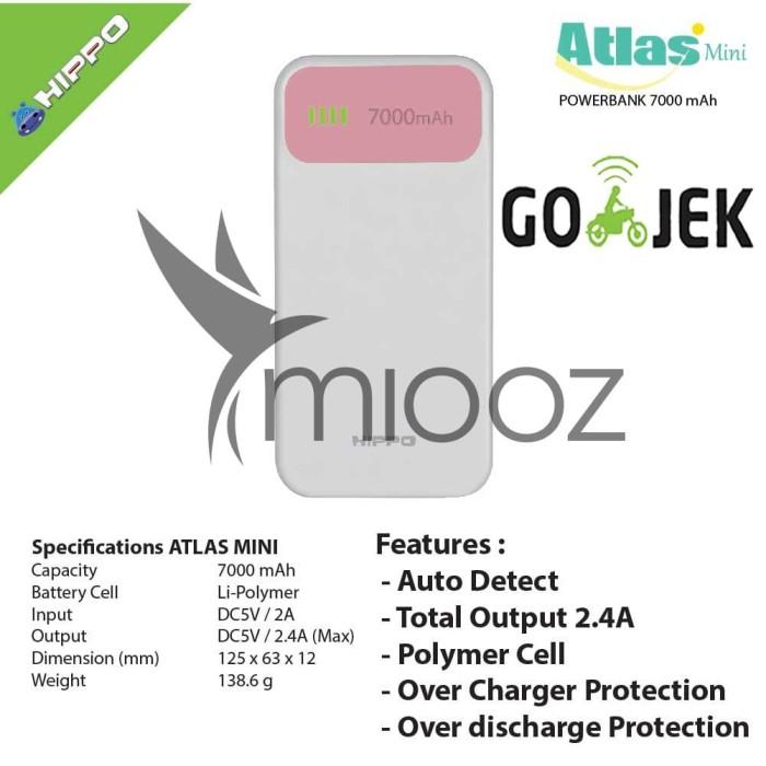 Jual Power Bank Hippo Atlas 7000 Mah Garansi Resmi Harga Promo Terbaru