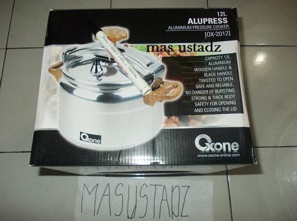 Dijual Ox-2012 Panci Presto 12 Liter Oxone Aluminium Tebal Murah