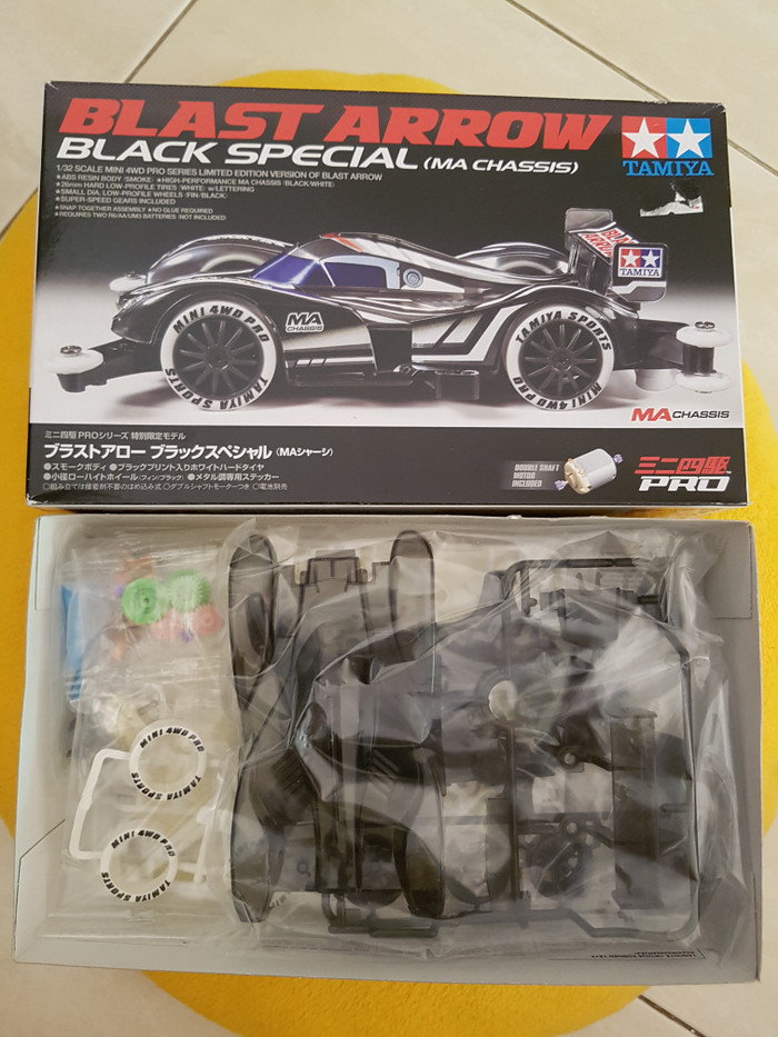 harga Tamiya 95020 blast arrow black special (ma chassis) Tokopedia.com