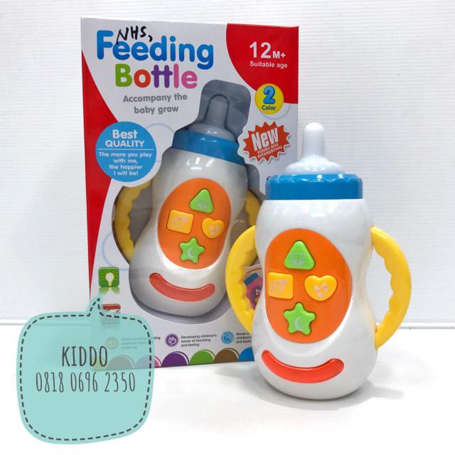 harga Mainan edukasi bayi - botol susu bermusik Tokopedia.com