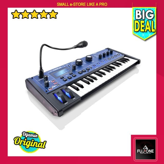 harga Novation mininova - mini powerful modelling synthesizer Tokopedia.com