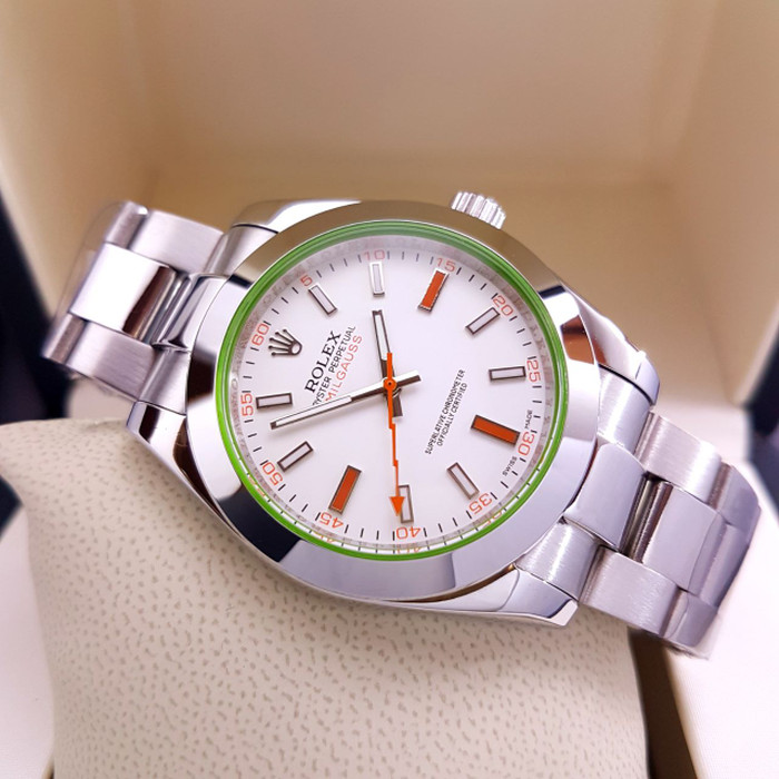 harga Jam tangan pria merk rolex oyster milgauss type : 62311 otomatis Tokopedia.com