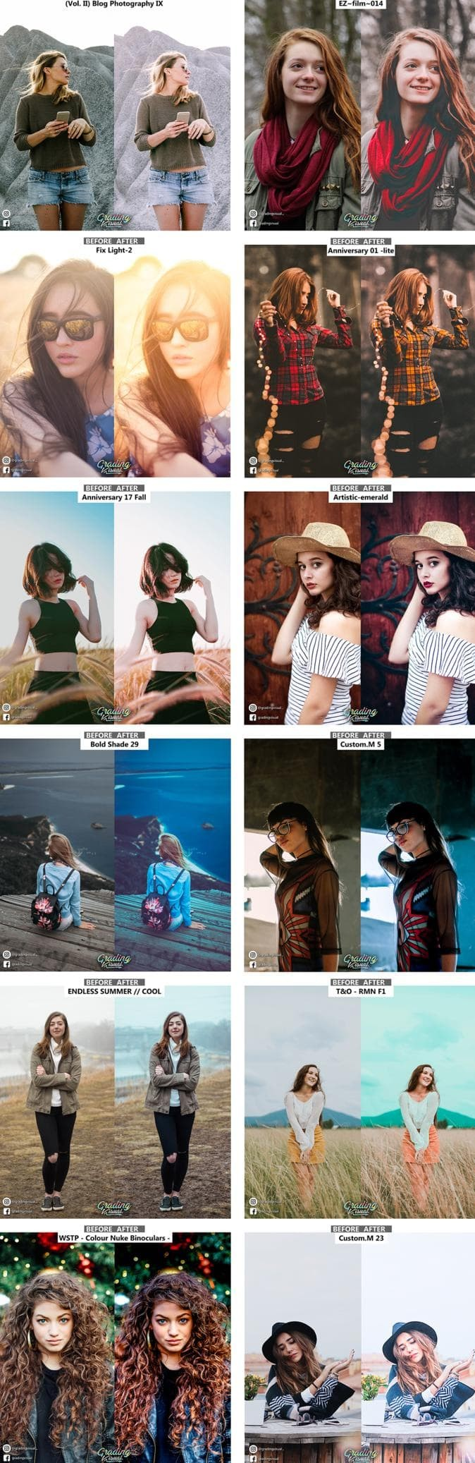 Jual Software Preset Lightroom Premiere Pro Photoshop Pamela