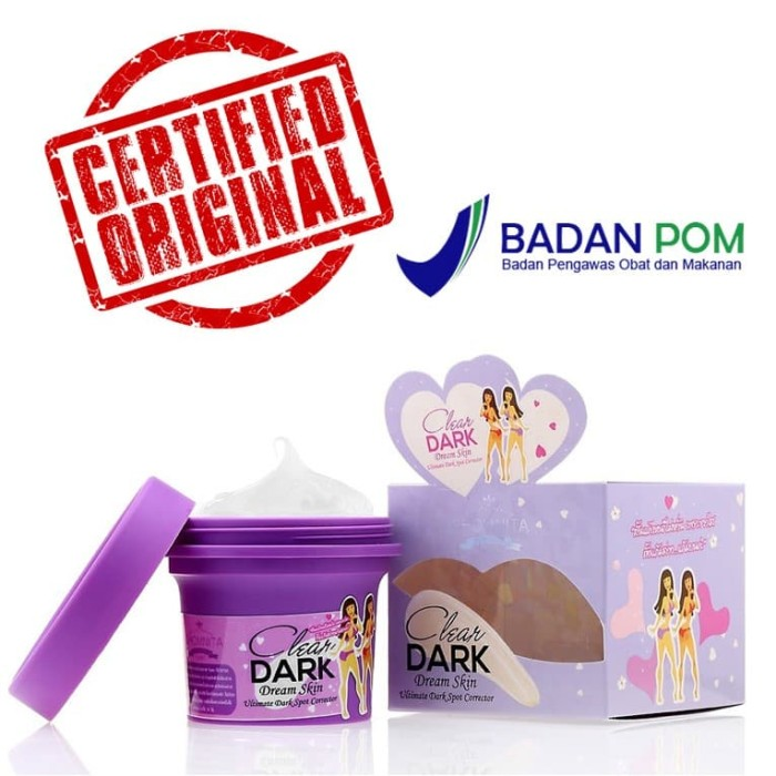 Foto Produk Cream Penghilang Noda Hitam Lipatan ClearDark BPOM dari RizkaOnline