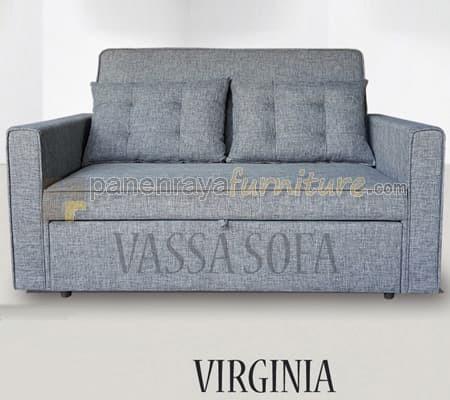 Foto Produk SOFA BED VASSA VIRGINIA 2 SEATER dari Panen raya furniture