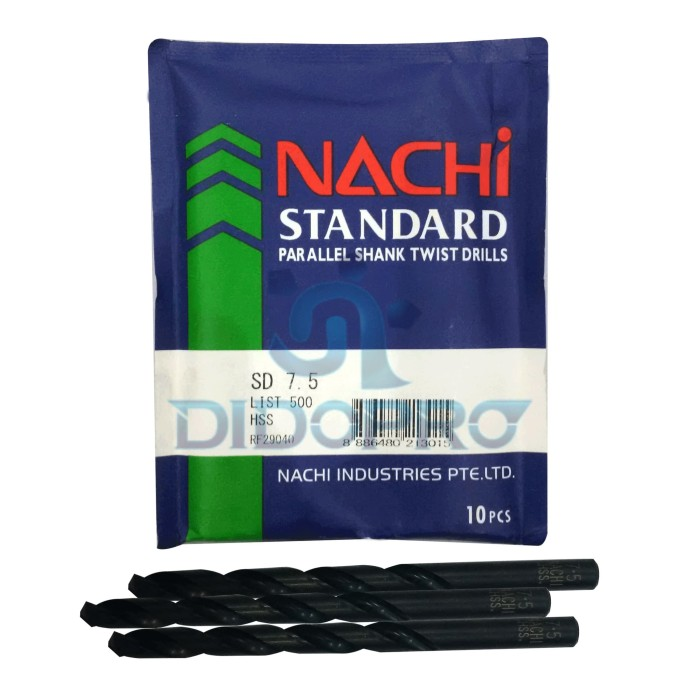 harga Mata bor besi nachi 7.5mm Tokopedia.com