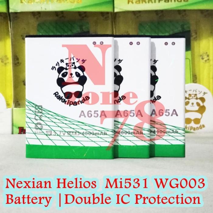 harga Baterai nexian helios mi531 wg003 rakkipanda double power protection Tokopedia.com
