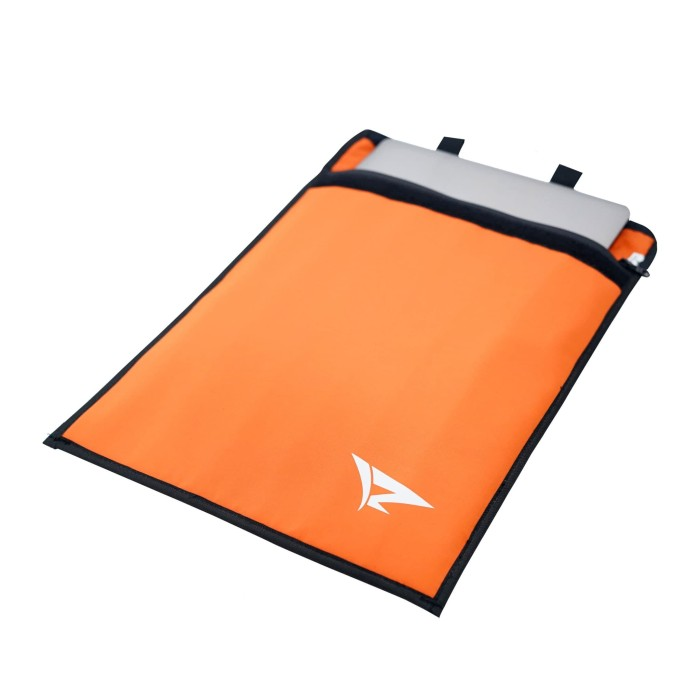 RADIUZ Softcase Sleeve Tas Laptop 14 Waterproof Anti Air Orange PT .