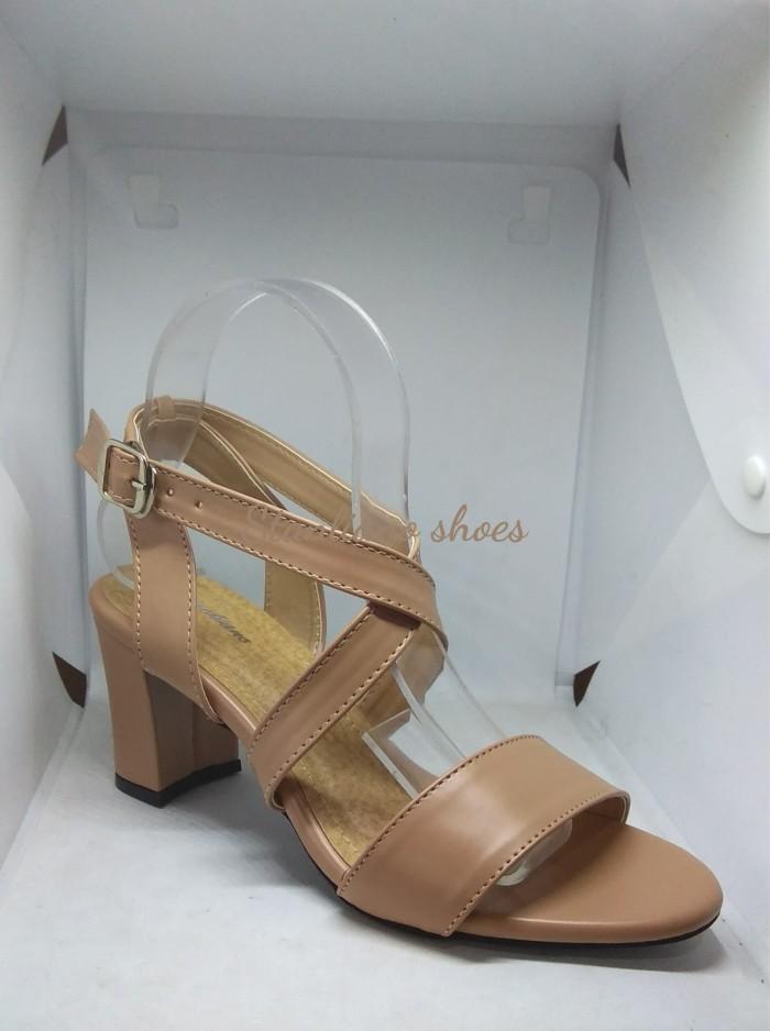 Sandal big heels silang stanliano 748 nude