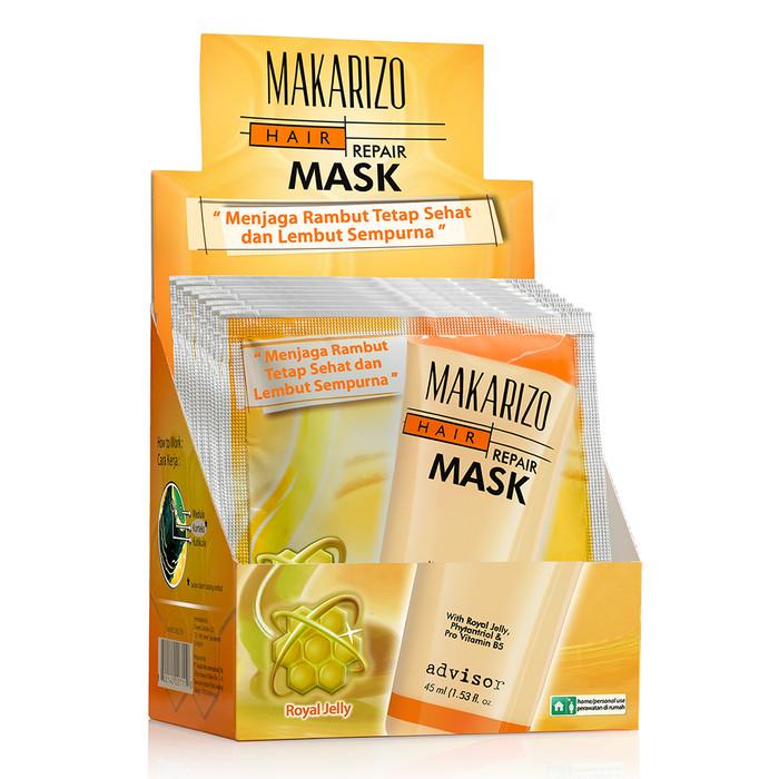 MAKARIZO Advisor Hair Repair Mask Sachet 15 ml x 12 sachet