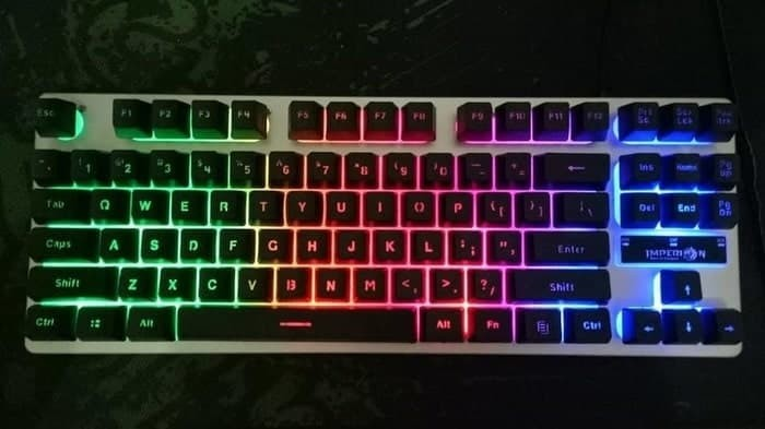 Imperion Sledgehammer 7 - TKL Rainbow Gaming Keyboard